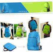 EY Mochila Plegable Impermeable Senderismo Bolsa Mochila Sports-Azul