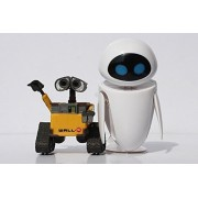 Cartoon Movie Wall E Toy (2pcs/set) Walle Eve Figure Toys Wall-E Robot Figures Dolls