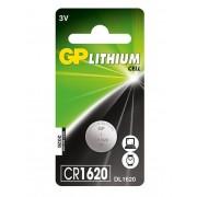 GP CR 1620 3V lítium gombelem