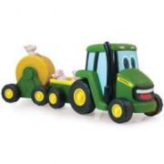 John Deere Traktor med djur