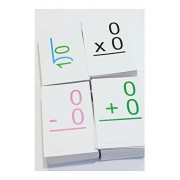ALL POSSIBLE 0-12 Addition Subtraction Multiplication Division Math Flash Cards! best buy