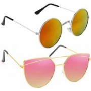 Vitoria Aviator Sunglasses(Multicolor)