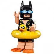 ФИЛМЪТ LEGO БАТМАН идентифицирана минифигурка - Батман на ваканция, LEGO Batman Movie - Vacation Batman, 71017-5