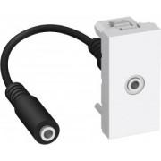 ALTIRA Audio Jack 3,5mm anya csatlakozó, polárfehér ALB44371 - Schneider Electric