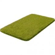 Grund Badteppich Melange Grund Größe: 50 x 110 cm, Farbe: Kiwigrün