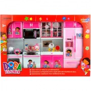 KidzFan Dream House Kitchen Set for Kids Fully Furnished Colors Models May Vary Heavy Duty Light Sound