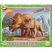 Puzzle - Triceratops (120 De Piese)/***