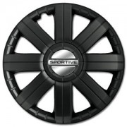 Sportive Pro Black 16 (1 Set = 4 Pieces)