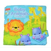 Quiet Book Educational Cartoon Fabric Lion Intelligence Kids Unfolding Activity Cloth Books for Toddlers