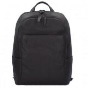 Piquadro Black Square Business Zaino pelle 39 cm scomparto Laptop