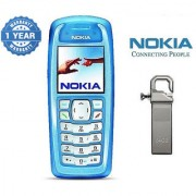 Nokia 3100/ Good Condition/ Certified Pre Owned (1 Year Warranty) with 64GB Pendrive