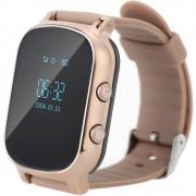 Ceas GPS Copii si Adulti iUni Kid58, Telefon incorporat, LBS, Wi-Fi, Gold