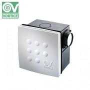 Ventilator centrifugal incastrabil pentru conducte Vortice Vort Quadro MICRO 100 I T ES