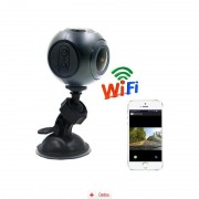 Camera Auto Full HD WiFi SMR8 + MicroSD 16Gb, CAR Triple
