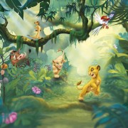 Komar Photo Mural Lion King Jungle 368x254 cm