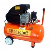 Compresor De Aire 2.5hp 50lts Lusqtoff Lc2550bk Gtia Oficial
