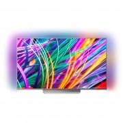 Televizor LED Philips 55PUS8303/12, 139 cm, 4K Ultra HD, Smart TV, Android Nougat, Wi-Fi, Argintiu