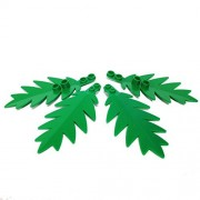 Lego Parts Plant Tree Palm Leaf Large 10 x 5 PACK of 4 - Green Leaves