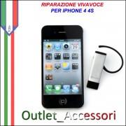 Sostituzione Riparazione Vivavoce Viva Voce per Apple Iphone 4 4S