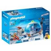 Playmobil Set Playmobil 9055 : Le QG des explorateurs polaires