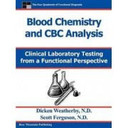Bear Mountian Pub Blood Chemistry And Cbc Analysis