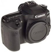 Canon EOS 80D SLR digitale camera (24,2 megapixels, 7,7 cm (3 inch) scherm, Full HD, APS-C CMOS-sensor, 45 AF cross-sensoren, DIGIC 6-beeldprocessor, NFC en WLAN) alleen zwarte behuizing