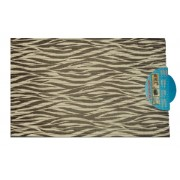 Fürdőszobaszőnyeg, kád kilépő 40X65 cm tigriscsíkos