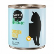 Cosma Nature 6 x 280 g - Filetto di Pollo