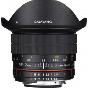 Samyang SY12M-C EF Mount 12-12 Mm F2.8 Fisheye Lens For Canon EF Cameras