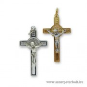 Szent Benedek feszület medál