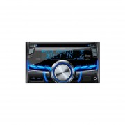 Radio Clarion de 2-DIN AM/FM/CD/USB/MP3/WMA/Bluetooth/HD CX505-Negro/Colores.