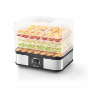 [neu.haus]® Dehidrator za sušenje hrane s 5 pladnjeva 32x25x30 cm Sušenje Hrane Plastika Crna