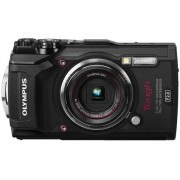 Aparat Foto Digital Olympus Stylus TOUGH TG-5, Filmare 4K, 12MP, Zoom Optic 4x, Rezistent la apa, inghet, soc si praf (Negru)