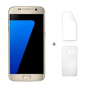 Samsung Galaxy S7 Edge G9350 5,5 Pulgadas Quad Core 4 GB RAM 32 GB ROM Oro + Protector De Pantalla + Estuche