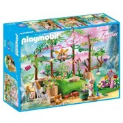 Playmobil Fairies, Padurea magica cu zane
