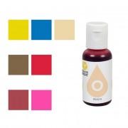 Cake Supplies Colorante alimentario liposoluble concentrado de 19 ml - Wilton - Color Rojo carmesí
