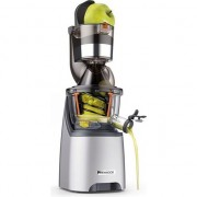 Storcator de fructe si legume cu melc Kenwood JMP800SI, 240 W, 48 RPM, Recipient suc 1.5 l, Recipient pulpa 1.5 l, Argintiu