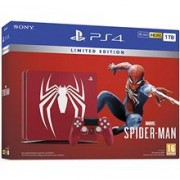 Consola Sony Ps4 Slim 1Tb Amazing Red Spider-Man Limited Edition + Marvel'S Spider-Man