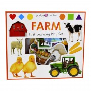 Priddy Books Farm First Learning Play Set - Ages 0-5 - Board Book - Priddy Books