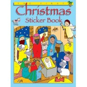 The First Christmas Sticker Book, Paperback/Bethan James