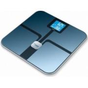 Cantar de diagnostic Beurer BF800 180kg Sticla 8 spatii de memorie Ecran LCD