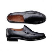 Deerskin Slip-Ons, 11 - Black