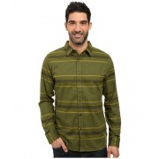 The North Face Long Sleeve Approach Flannel Terrarium Green (Prior Season)