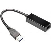 Placa de retea Gembird NIC-U3-02, Gigabit, USB 3.0 (Negru)