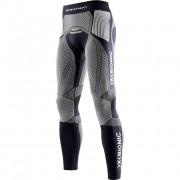X-Bionic The Trick Running Pants Long Men - black / white - L