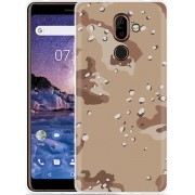 Nokia 7 Plus Hoesje Army Desert Camouflage