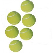 Cricket Tennis Balls For Indoor And Outdoor Use ( Pack Of 6 Balls)