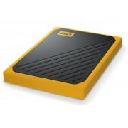 Жесткий диск Western Digital My Passport Go 500Gb Amber WDBMCG5000AYT-WESN