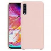 Samsung Galaxy A70 Liquid Silicone Case - Pink