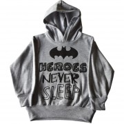 Sudadera Batman Heroes Never Sleep 27015